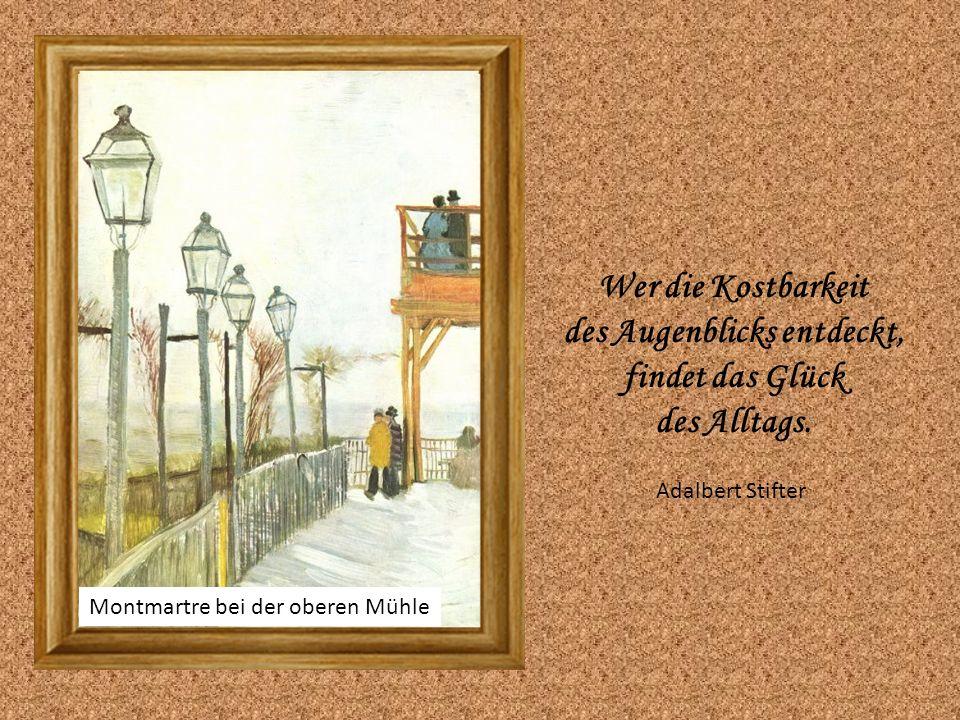 Die alte Mühle Denke immer daran, dass es nur eine allerwichtigste Zeit gibt, nämlich: sofort.