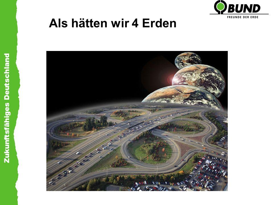 Zukunftsfähiges Deutschland Als hätten wir 4 Erden