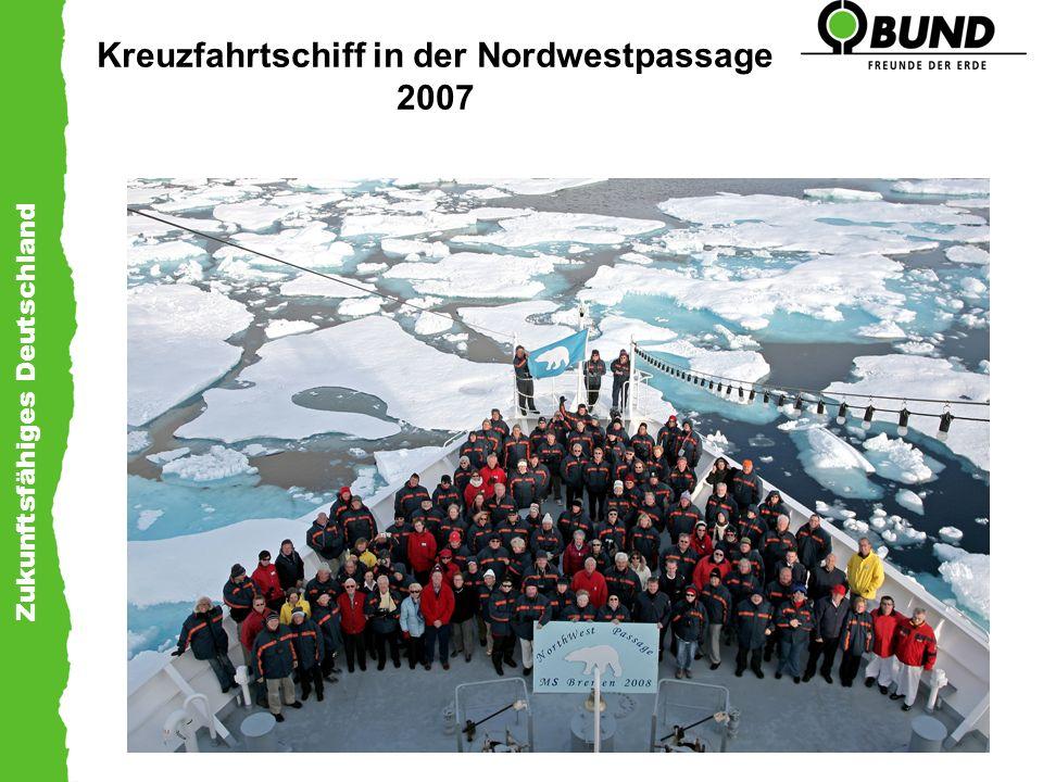 Zukunftsfähiges Deutschland Kreuzfahrtschiff in der Nordwestpassage 2007
