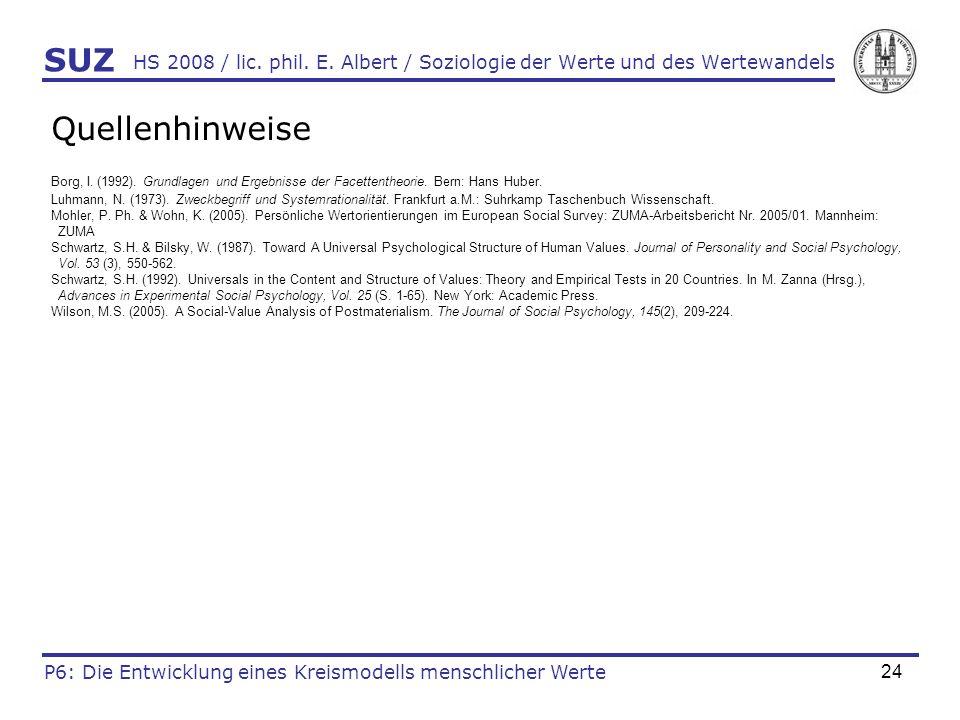 24 HS 2008 / lic.phil. E.