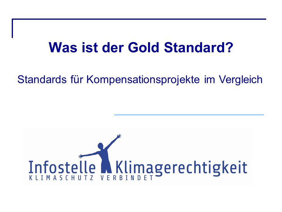 Was ist der Gold Standard? Standards für Kompensationsprojekte im Vergleich