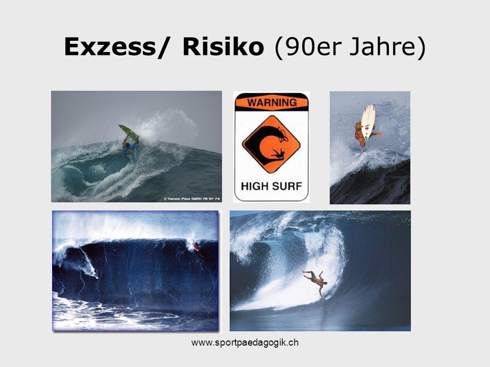 www.sportpaedagogik.ch Exzess/ Risiko (90er Jahre)