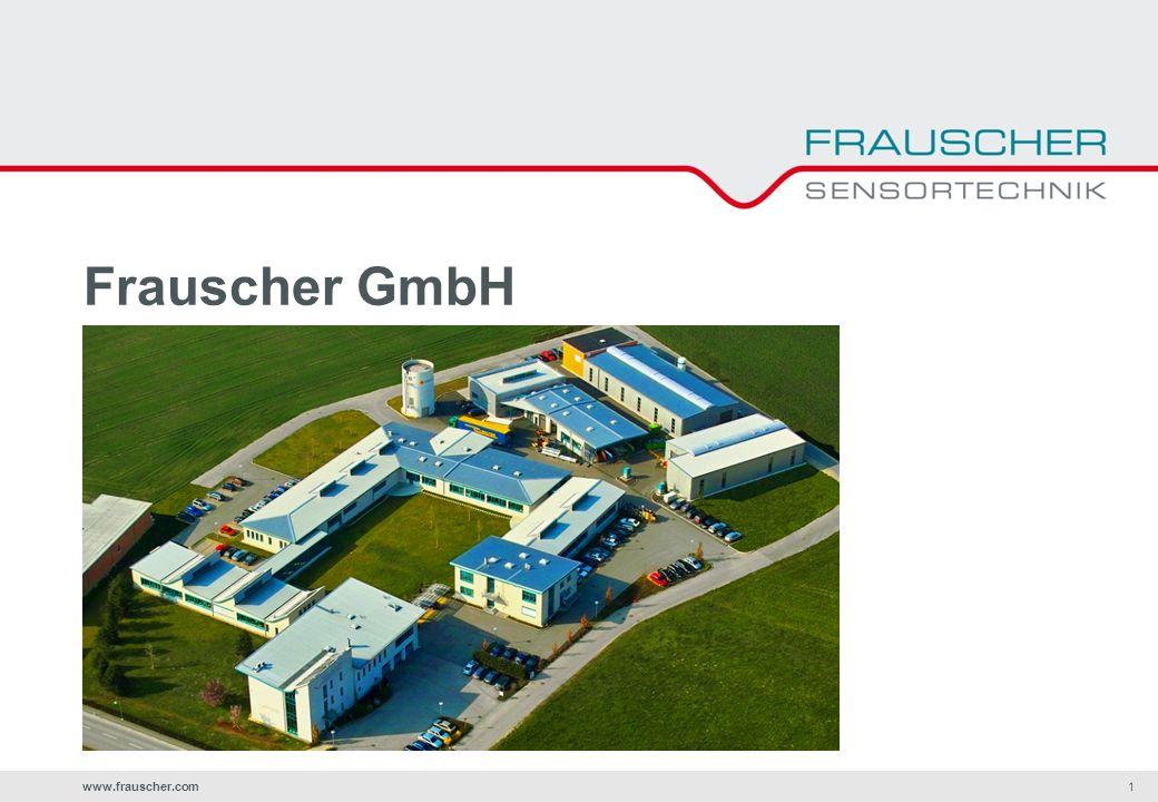 www.frauscher.com1 Frauscher GmbH