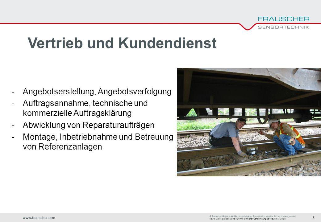 www.frauscher.com5 © Frauscher GmbH – alle Rechte vorbehalten.