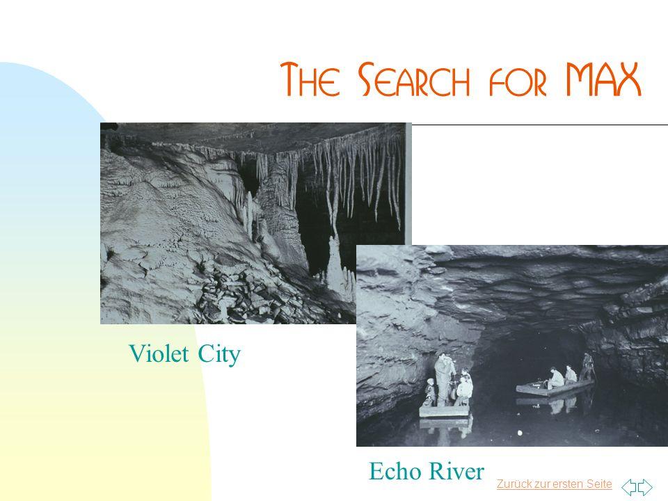 Zurück zur ersten Seite Violet City Echo River