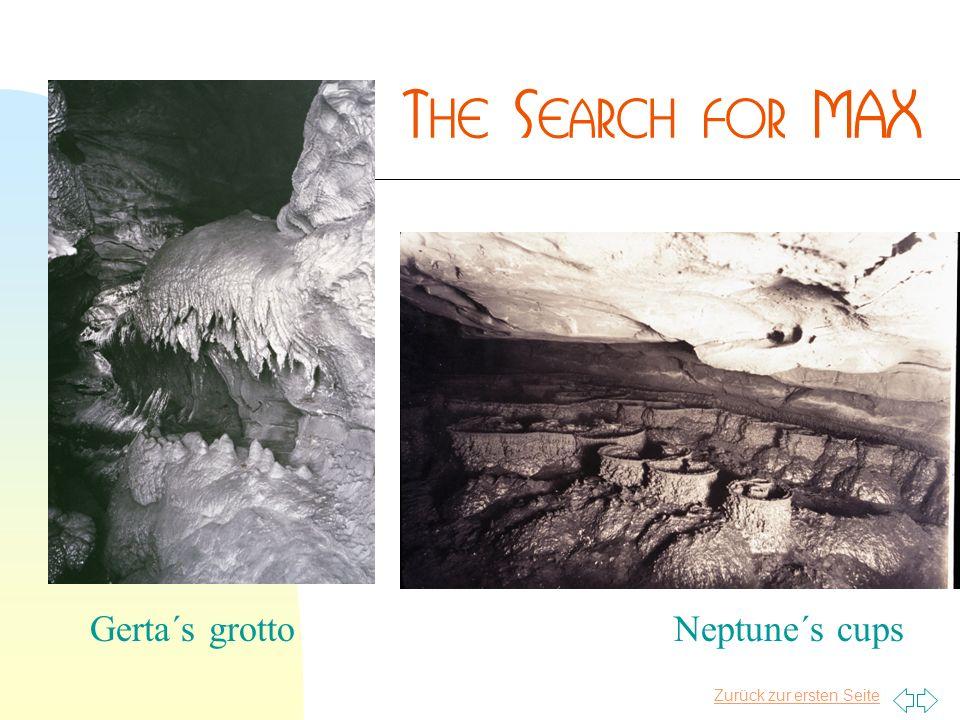 Zurück zur ersten Seite Neptune´s cupsGerta´s grotto