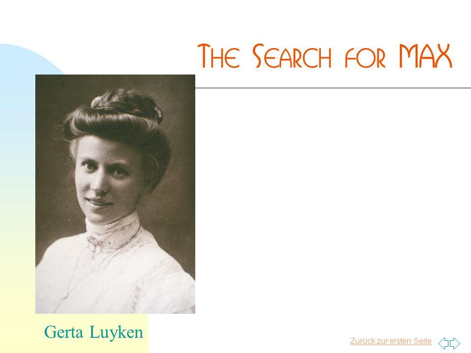 Zurück zur ersten Seite Gerta Luyken