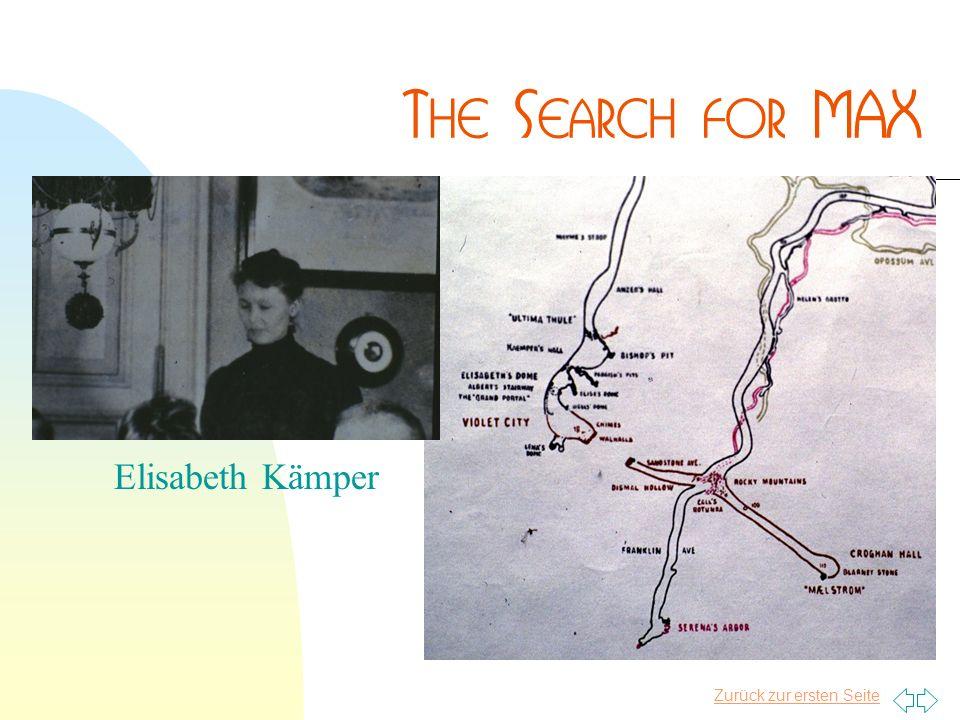 Zurück zur ersten Seite Elisabeth Kämper