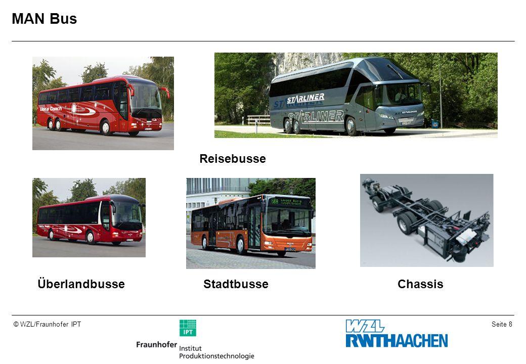 Seite 8© WZL/Fraunhofer IPT MAN Bus Reisebusse ÜberlandbusseStadtbusseChassis