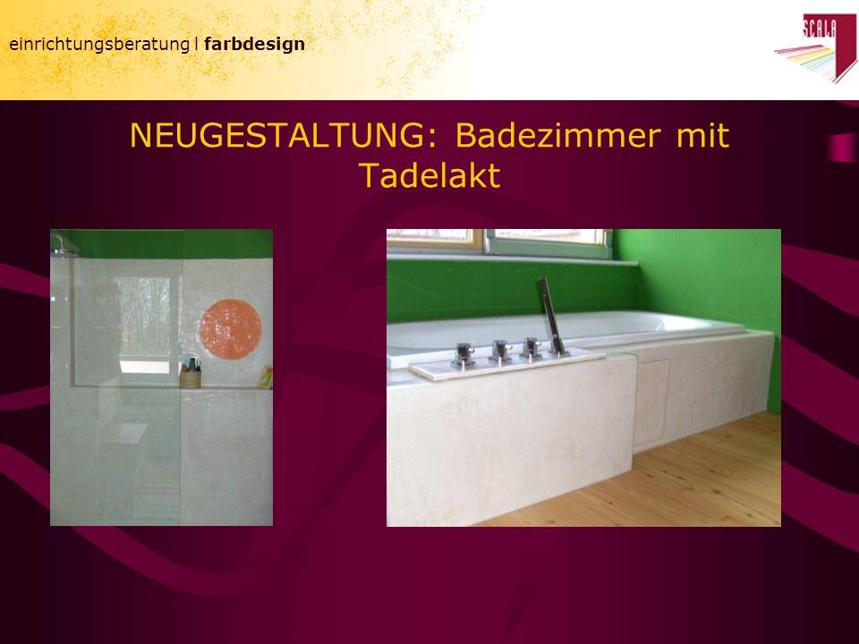 NEUGESTALTUNG: Badezimmer mit Tadelakt einrichtungsberatung l farbdesign