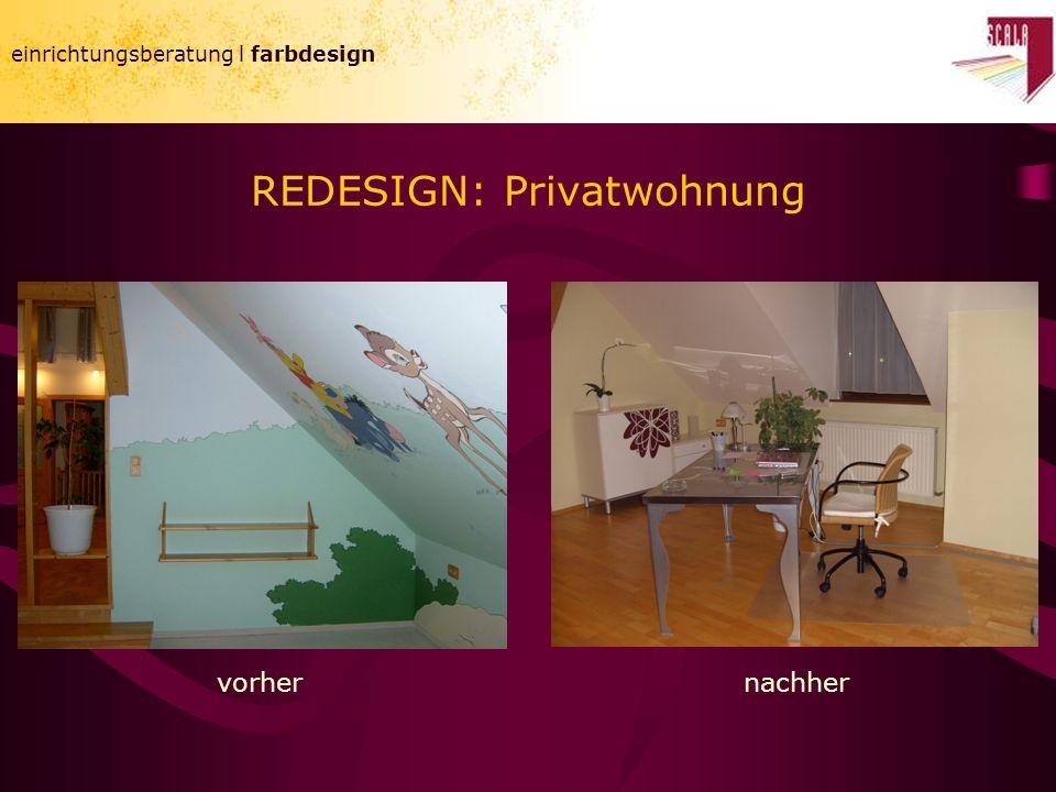 einrichtungsberatung l farbdesign REDESIGN: Privatwohnung einrichtungsberatung l farbdesign vorhernachher
