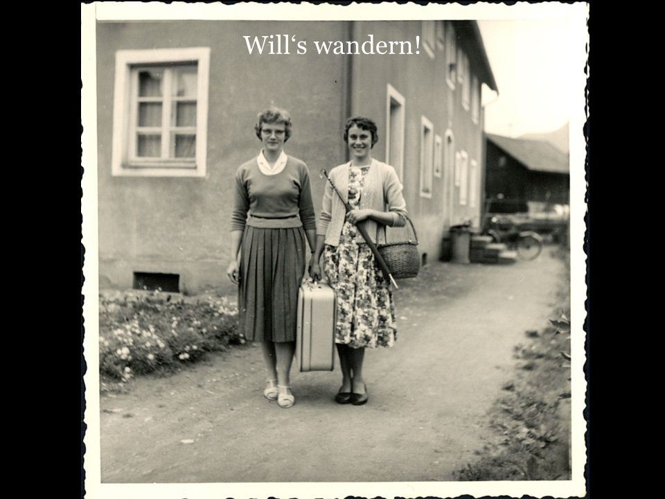 Wills wandern!