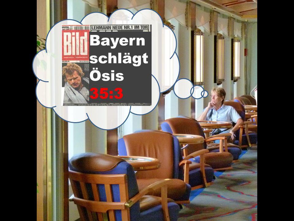 Bayern schlägt Ösis 35:3