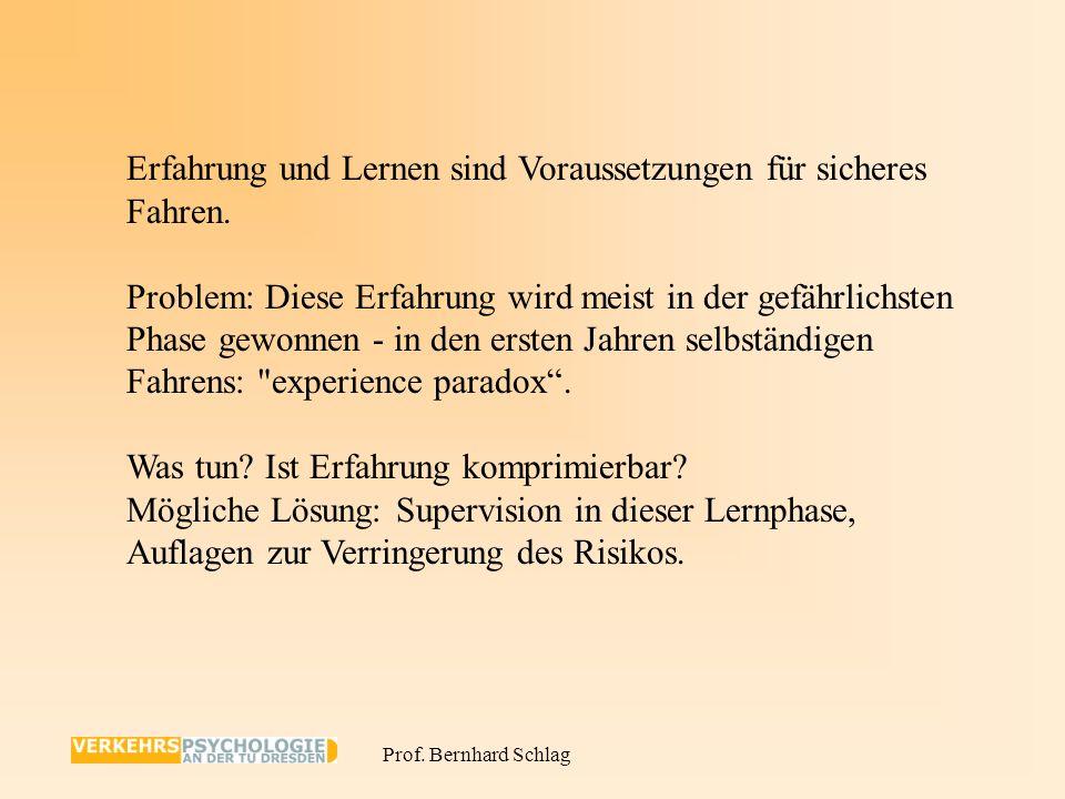 Prof. Bernhard Schlag