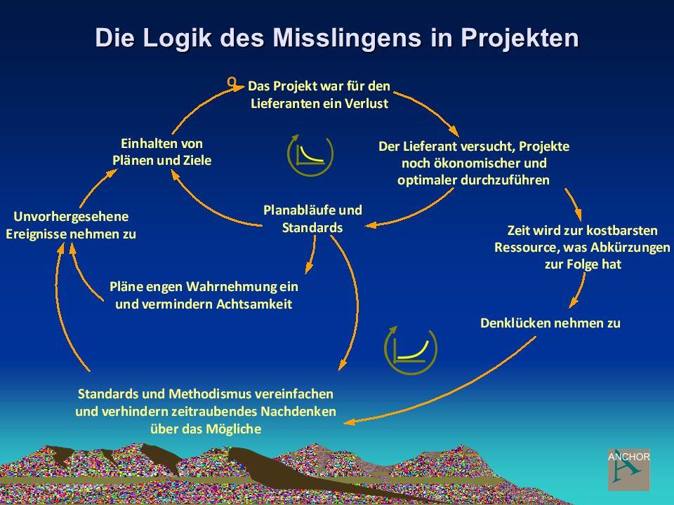Die Logik des Misslingens in Projekten