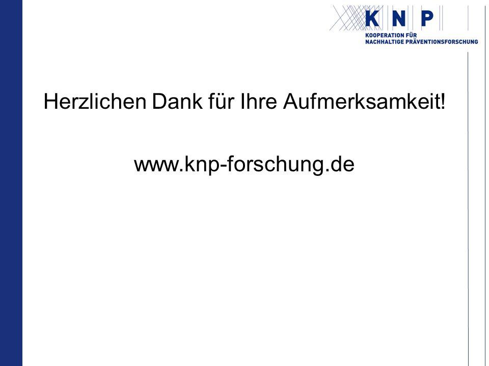 Herzlichen Dank für Ihre Aufmerksamkeit! www.knp-forschung.de