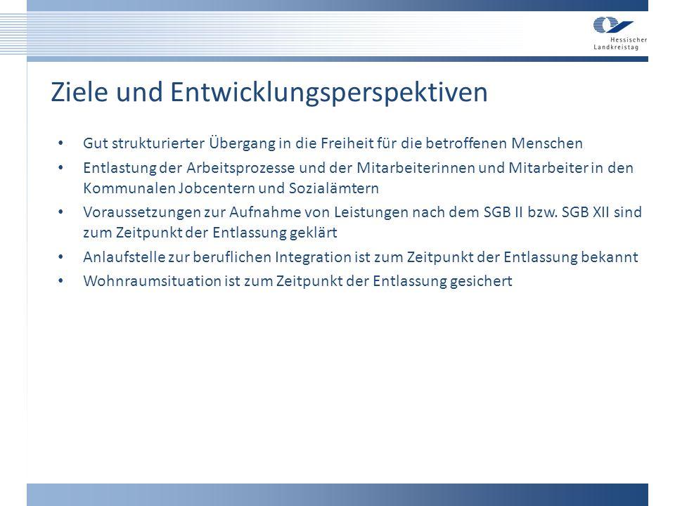 Umsetzung in die Praxis Ansprechpartnerinnen und Ansprechpartner wurden von den 21 Sozialämter der hessischen Landkreise benannt Ansprechpartnerinnen und Ansprechpartner wurden von allen 16 hessischen Optionskommunen benannt