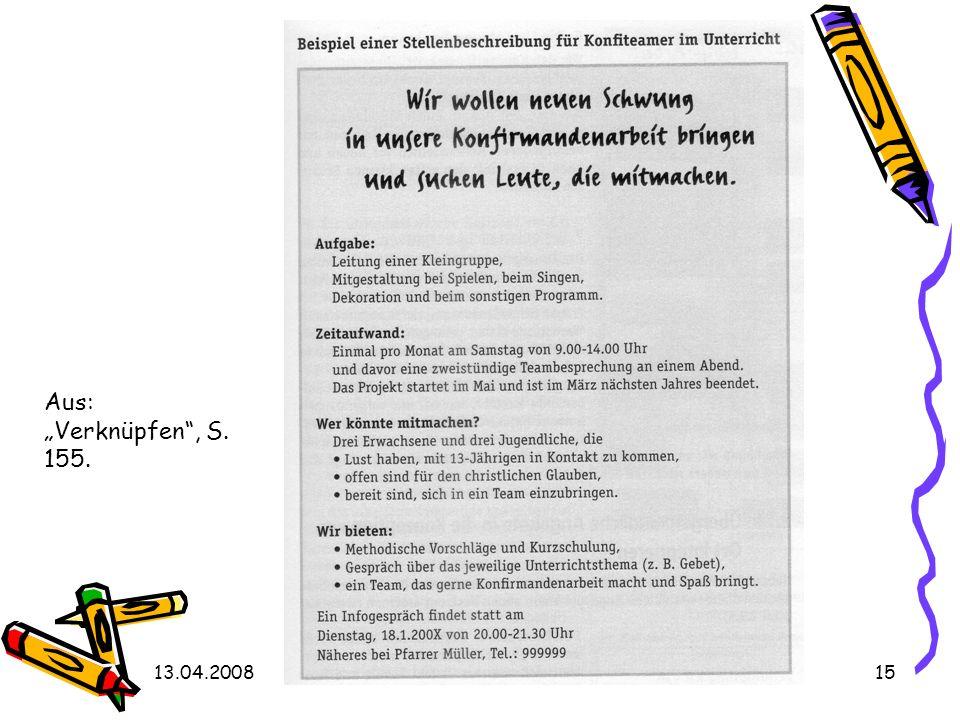 13.04.2008Kongress Wachsende Kirche15 Aus: Verknüpfen, S. 155.