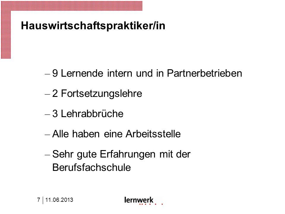 Lernwerk Lehrbetriebsverbund – Neu: Supported Education im Auftrag IV – Newsletter: www.lernwerk.ch – Bei Interesse: Führung durch Lernwerkladen ca.