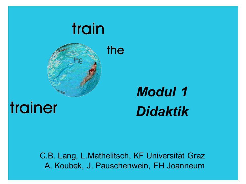 train the trainer Im Auftrag des bm:bwk im Rahmen der Initiative Neue Medien in der Lehre an Universitäten und Fachhochschulen 2 LernendeLehrende Inhalt