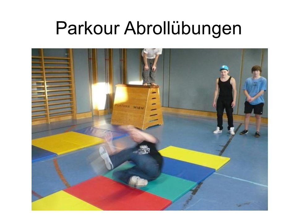 Parkour Abrollübungen