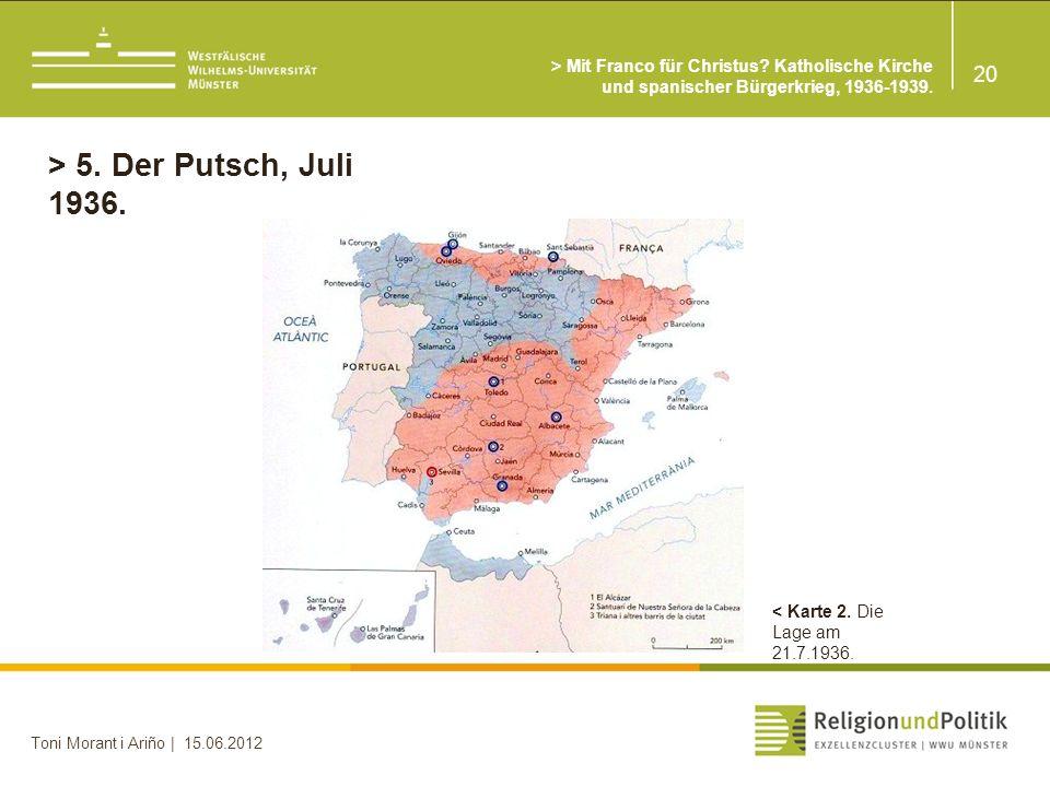 20 Toni Morant i Ariño | 15.06.2012 > 5.Der Putsch, Juli 1936.