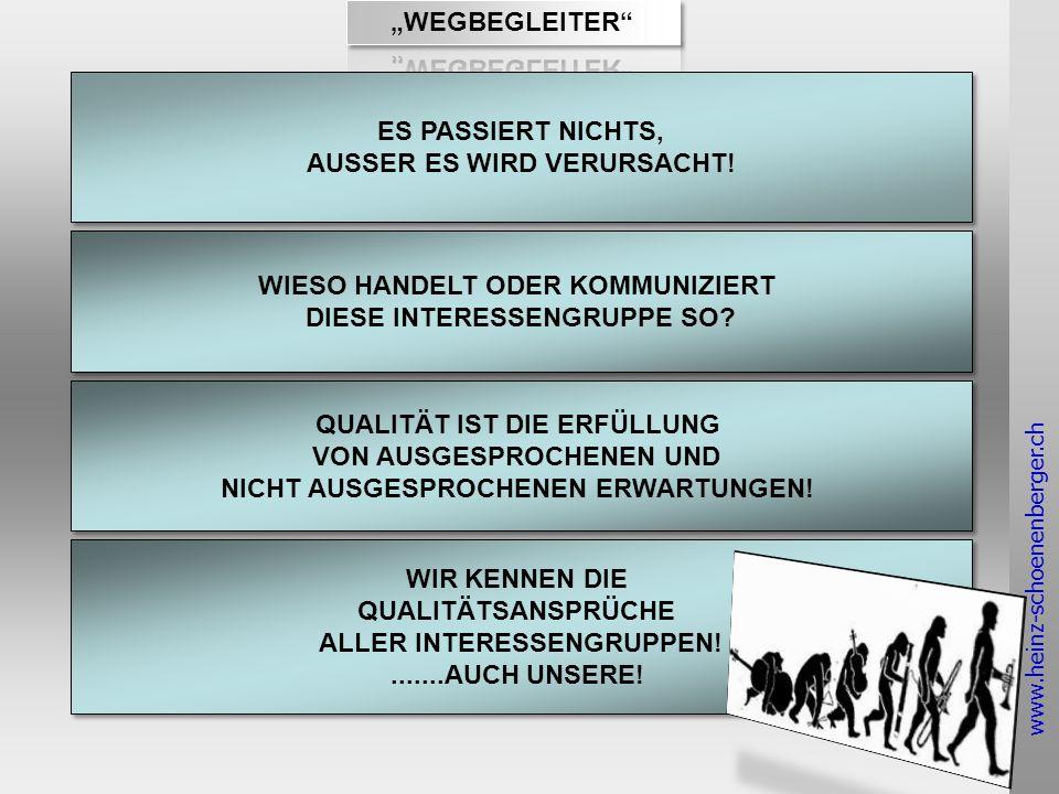 www.heinz-schoenenberger.ch ES PASSIERT NICHTS, AUSSER ES WIRD VERURSACHT.