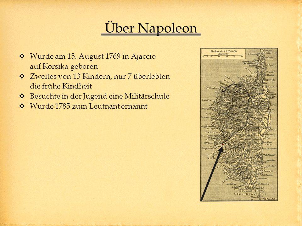 Über Napoleon Wurde am 15.