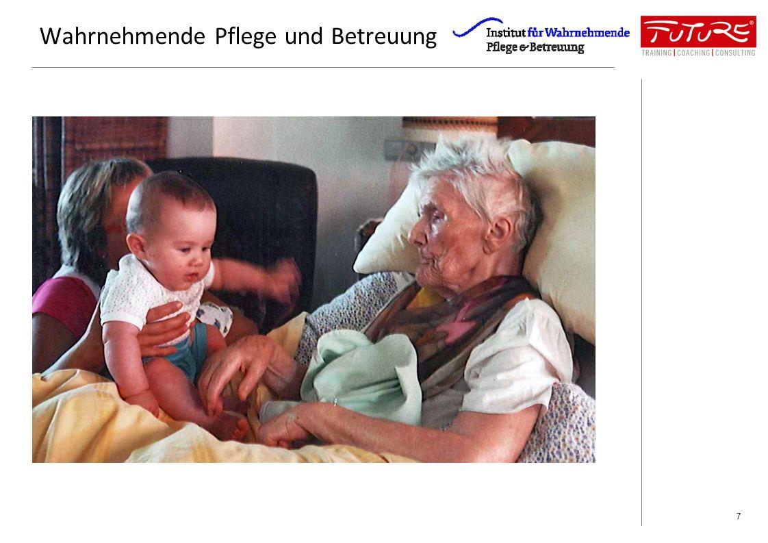 Altenbetreuung ohne systemischen Ansatz kreiert Konflikt Konflikt kostet Zeit, Kraft, Nerven und bindet Aufmerksamkeit, die für die Weiterentwicklung der Pflege fehlen.