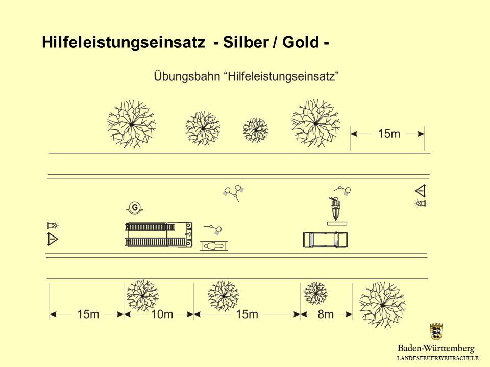 LANDESFEUERWEHRSCHULE Hilfeleistungseinsatz - Silber / Gold -