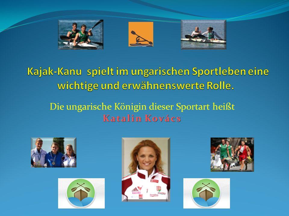 Katalin Kovács mit ihren 29 WM-Titeln gehört zu den erfolgreichsten Kanuten der WM-Geschichte.