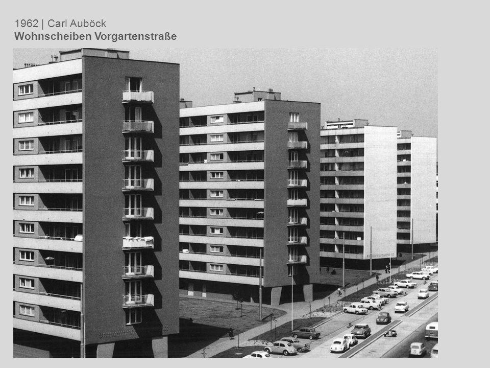 1962 | Carl Auböck Wohnscheiben Vorgartenstraße
