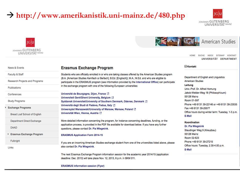 http://www.amerikanistik.uni-mainz.de/480.php 2