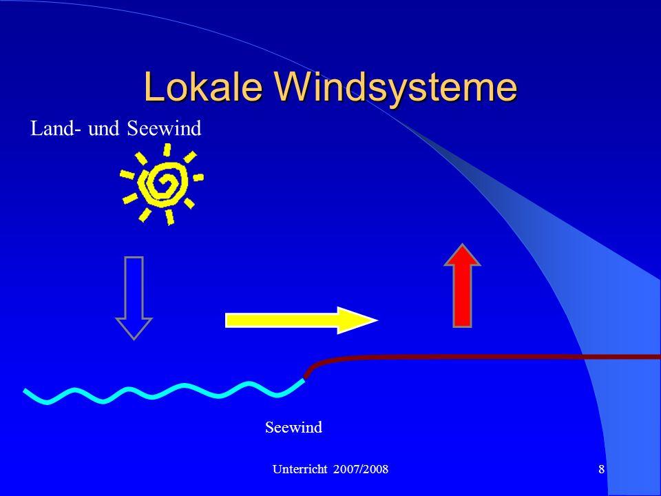 8 Lokale Windsysteme Land- und Seewind Seewind