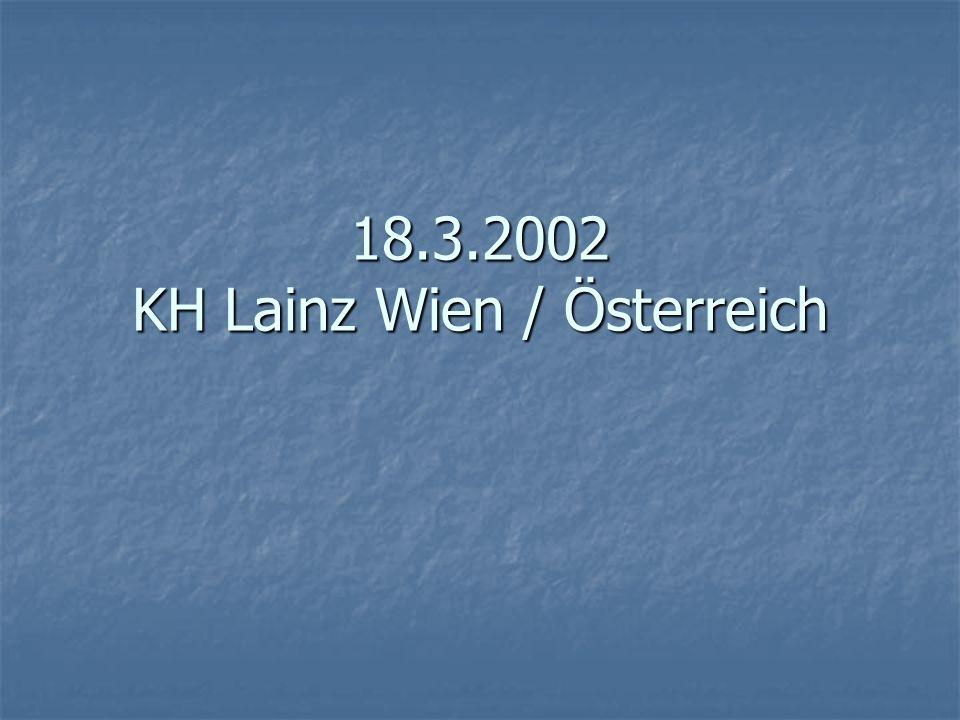 18.3.2002 KH Lainz Wien / Österreich