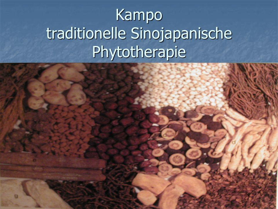 Kampo traditionelle Sinojapanische Phytotherapie