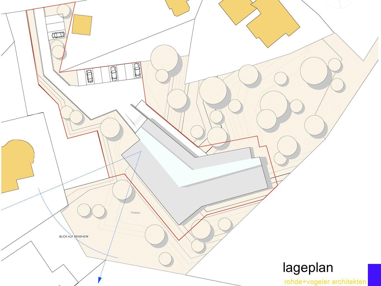 rohde+vogeler architekten lageplan