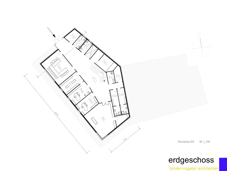rohde+vogeler architekten erdgeschoss
