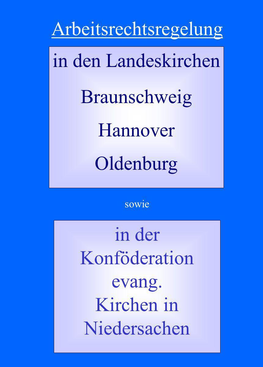 in den Landeskirchen Braunschweig Hannover Oldenburg in der Konföderation evang.