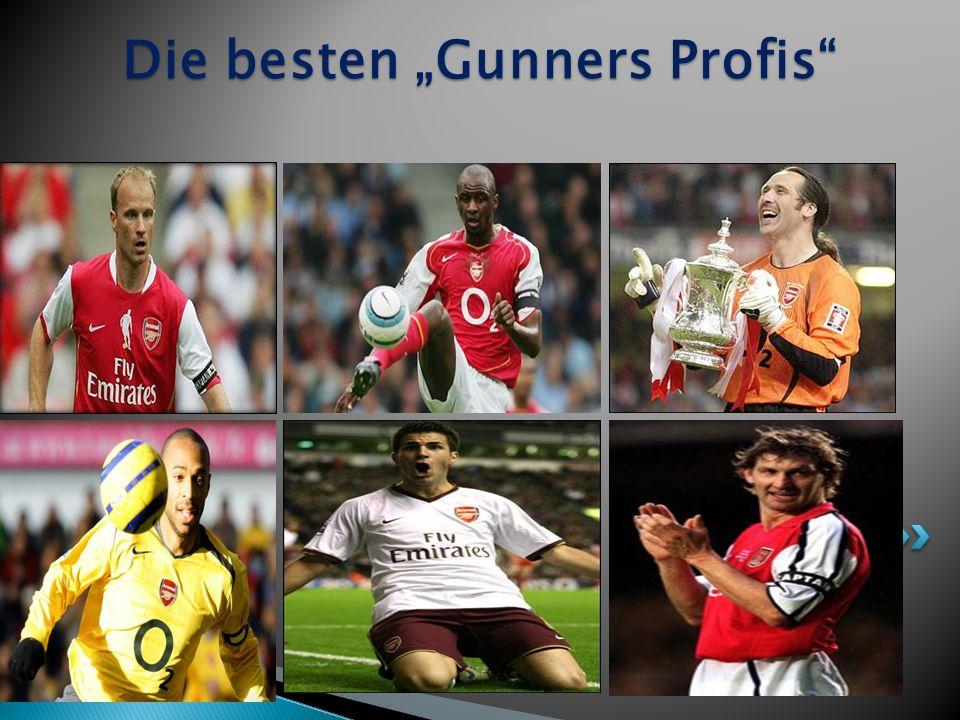 Die besten Gunners Profis