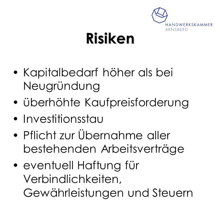 Vorgehensweise: -Suche nach geeignetem Betrieb- Betriebsbörsen der HWK u.