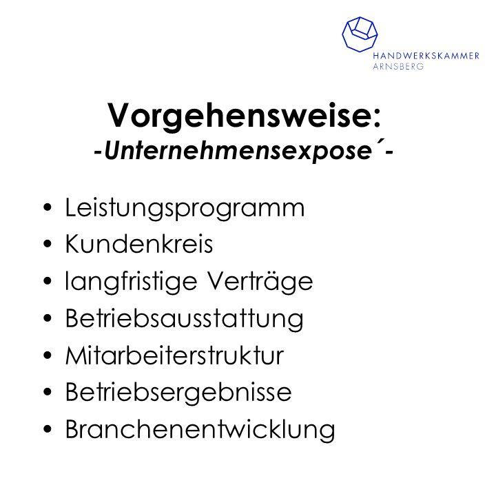 Service der Handwerkskammer Arnsberg Betriebsbörse betriebswirtschaftliche Beratung technische Beratung Technologieberatung