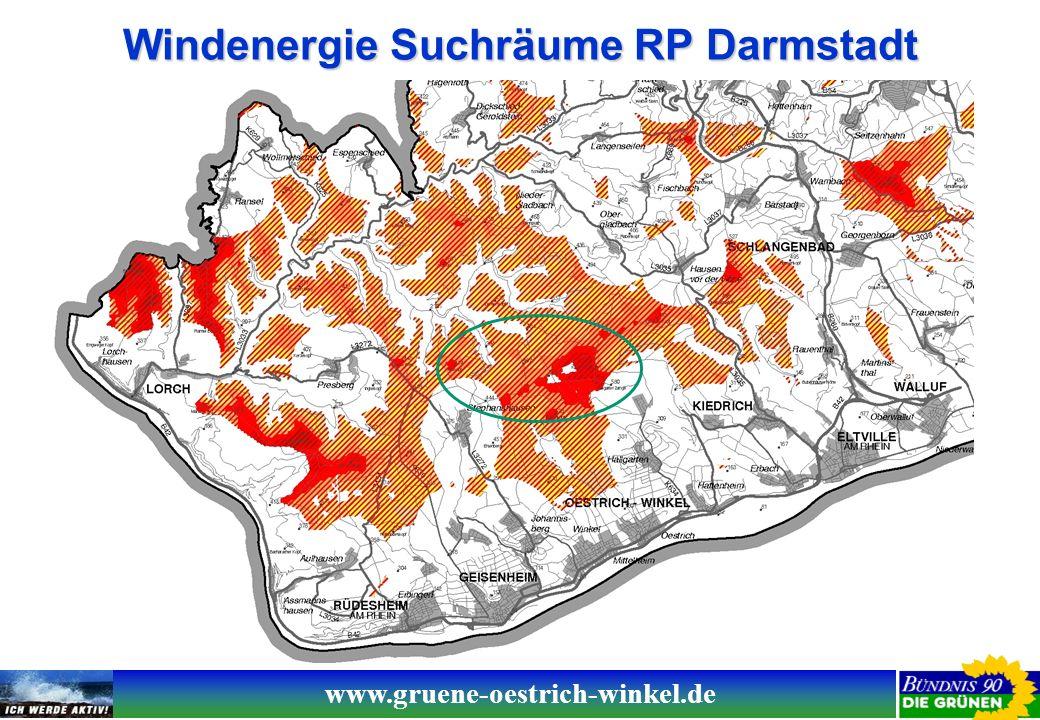 www.gruene-oestrich-winkel.de Planungsgrundsätze Windenergieanlagen aus Sicht Bündnis 90/Die Grünen Planungsmotivation: Der Umstieg auf erneuerbare Energien ist eine globale Notwendigkeit, die aufgrund deren Verteilung in der Fläche eine dezentrale Energieernte erforderlich macht.