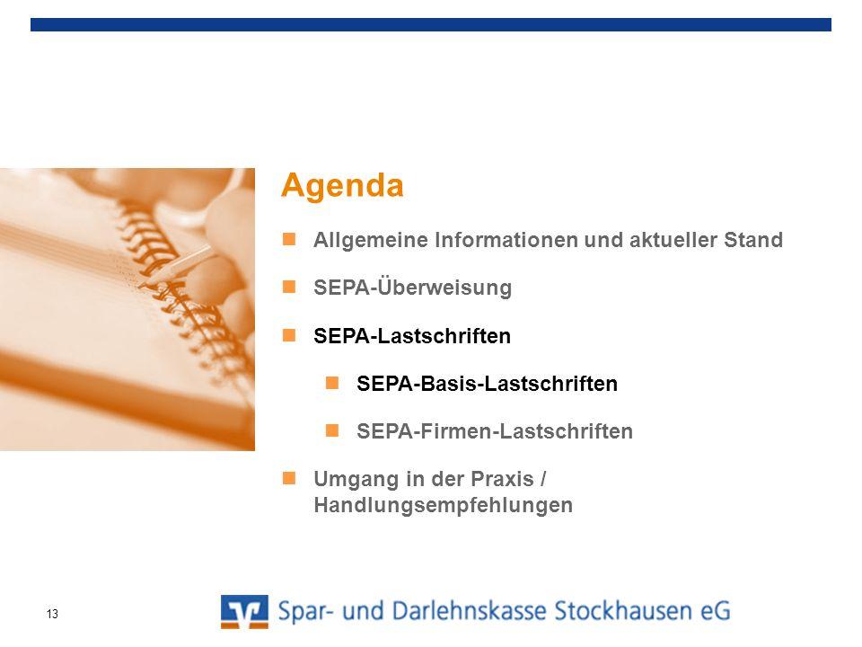 SEPA-Basis-Lastschrift ZahlungspflichtigerZahlungsempfänger Clearing und Verrechnung 0.