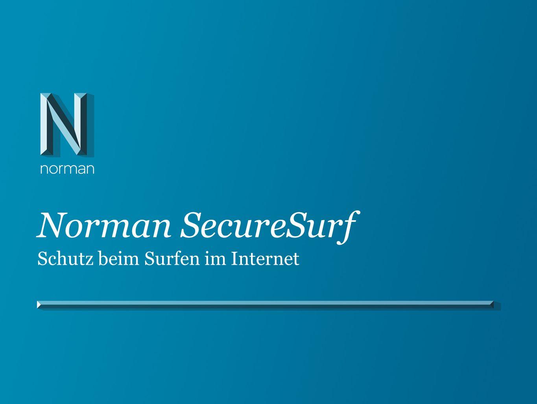 Norman SecureSurf Schutz beim Surfen im Internet