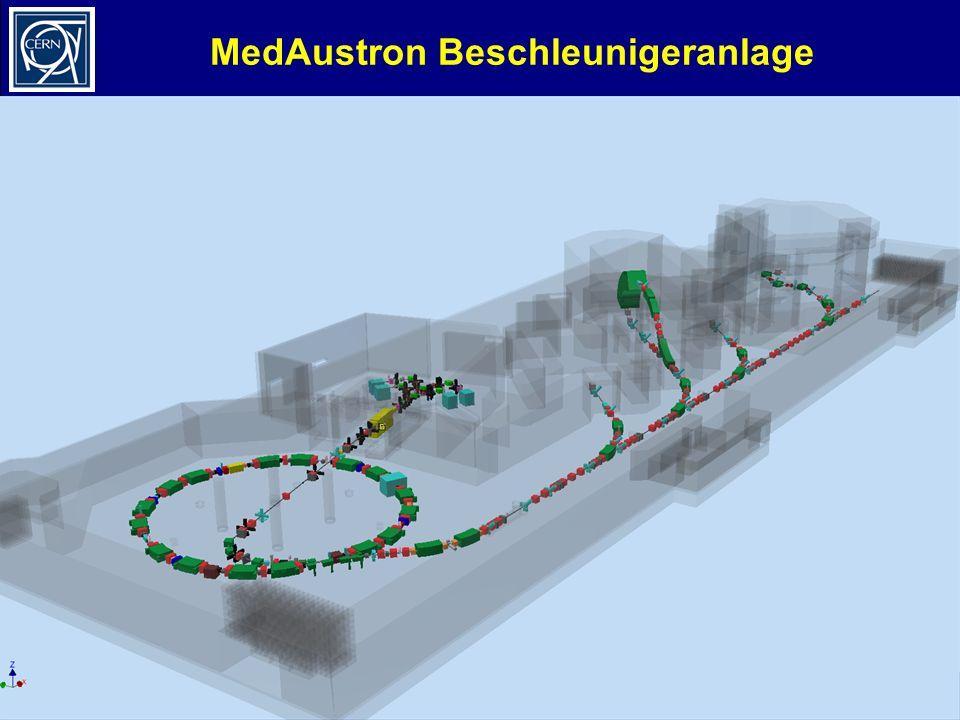 MedAustron Beschleunigeranlage