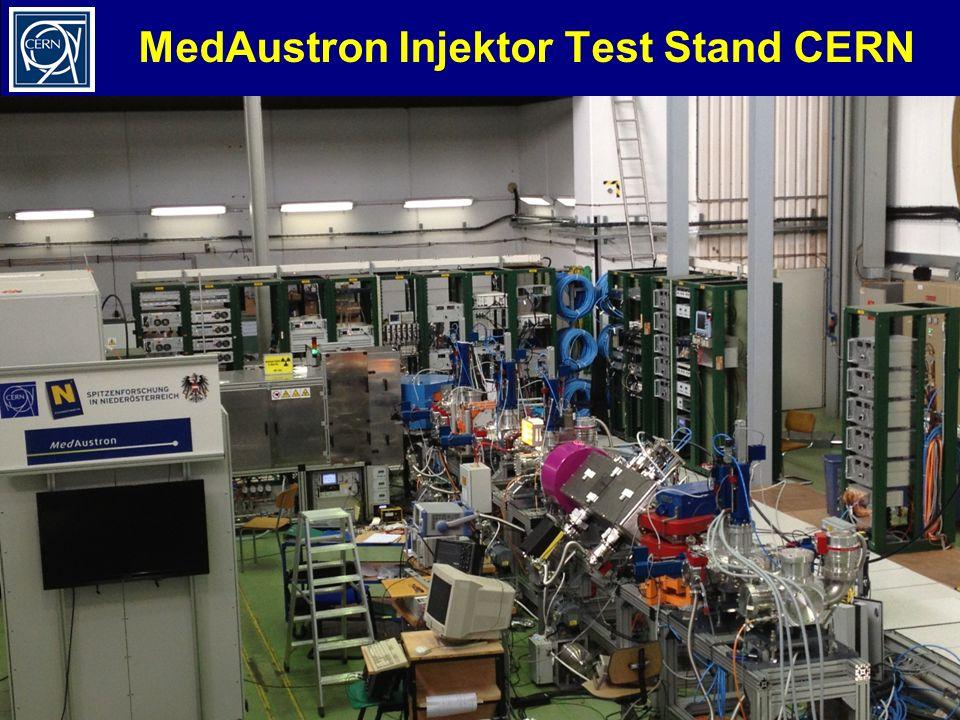 M. BenediktLehrerprogramm, 26.11.2012 29 MedAustron Injektor Test Stand CERN