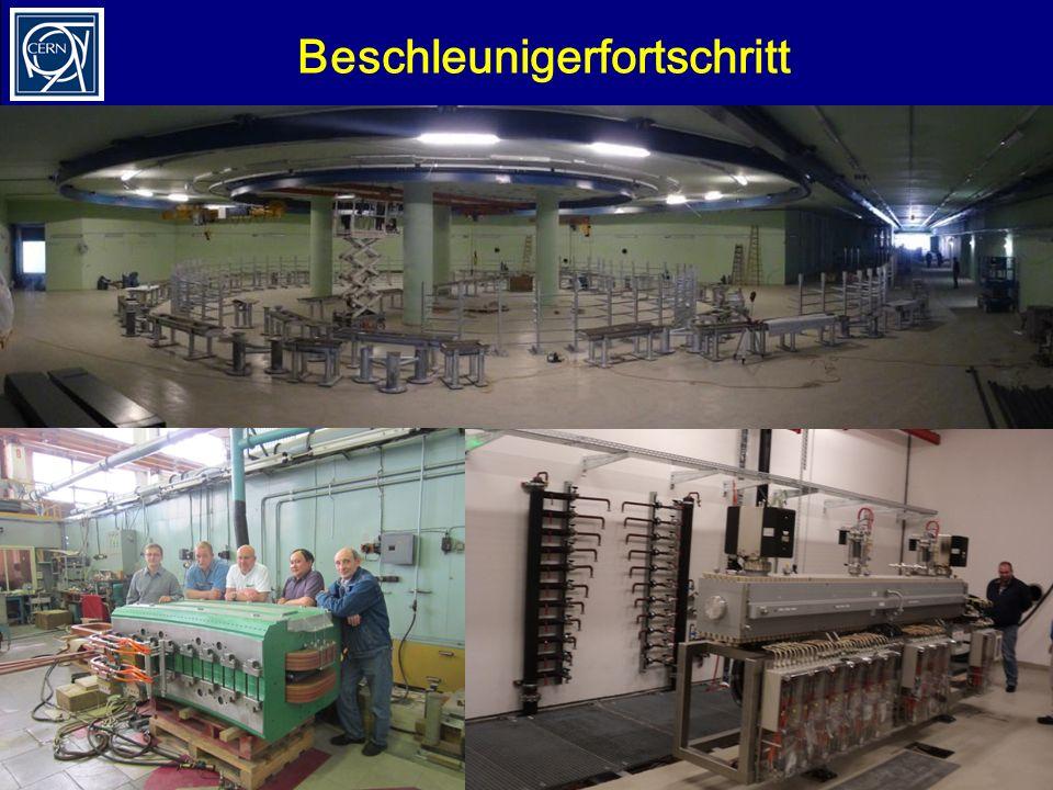 M. BenediktLehrerprogramm, 26.11.2012 Beschleunigerfortschritt 31