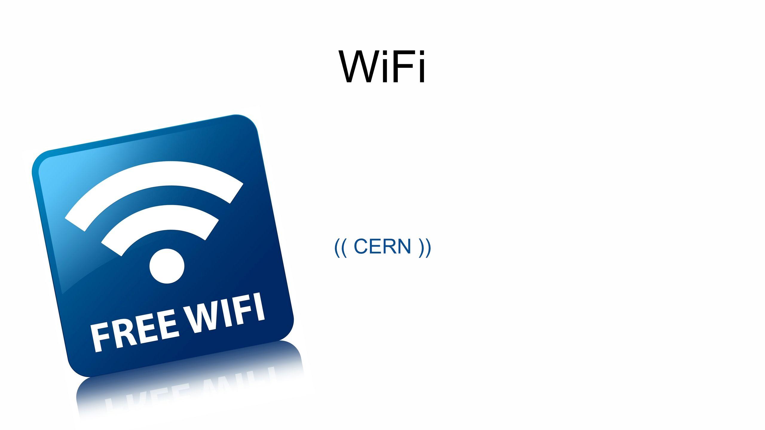 WiFi (( CERN ))