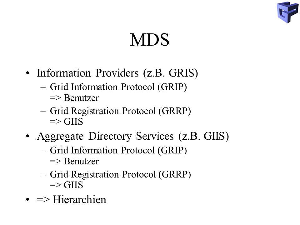 MDS Information Providers (z.B.